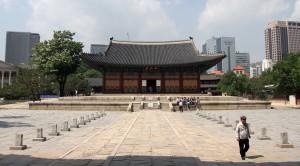 Main throne hall at Deoksugong Palace