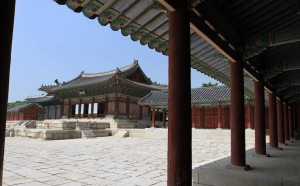 Throne Hall for Cheondukgung Palace.