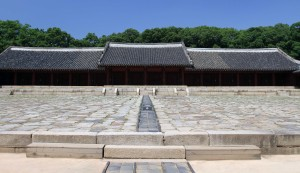 "Yeongnyeongjeon (""Hall of Eternal Peace"") built to accommodate additional mortuary tablets."