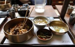 Most excellent Korean food.