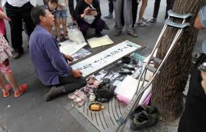 Street calligrapher.