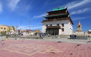 Janraisig Temple in the Gandantegchinlen Monastery compound.