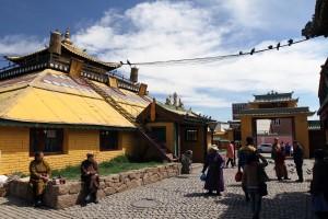 Golden Temple at Gandan Monastery.