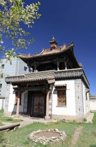The Temple of Yadam in the Chojin Lama Monastery.