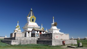 Golden Prayer Stupa.
