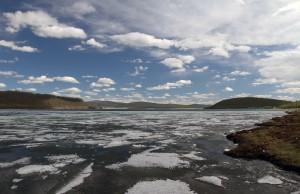 Symphony of ice in Lake Khuvsgul.