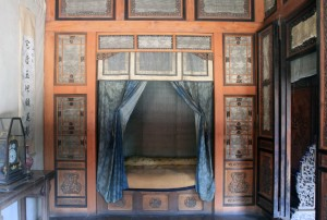 Room with bed for one of the Emperor's concubines.