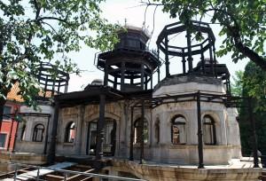 Derelict structure in the Forbidden City.