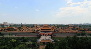 The Forbidden City seen from Jing Shan.