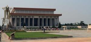 Mao Zedong's Mausoleum.