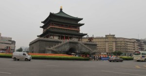 The Bell Tower in Xi'an.