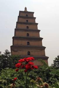 Giant Wild Goose Pagoda.