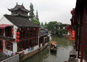 Another canal in Zhujiajiao.