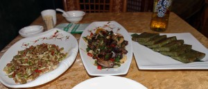 My dinner in Guilin.