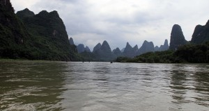 Back on the Li River after lunch.