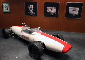 Another classic car in the Grand Prix museum.