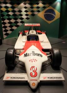 The winning F3 car Ayrton Senna raced in Macau in 1983.