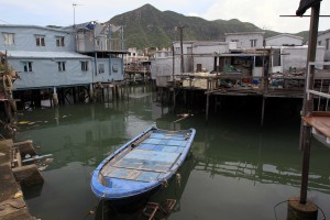 More stilt houses in Tai O.