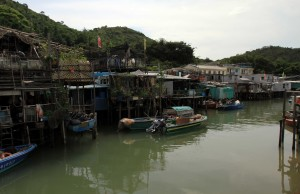 Another view of the homes in Tai O.