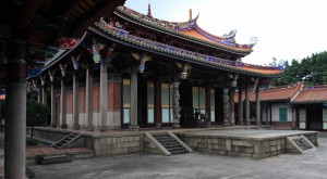 Another view of Dacheng Hall.