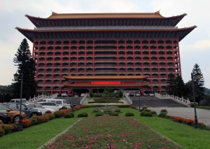 The Grand Hotel in Taipei.