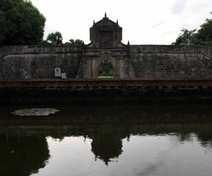 Entrance to Fort Santiago.
