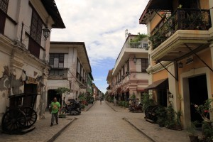 Another view of Calle Crisologo.