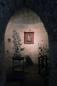 A chapel within the church.