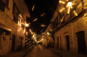 Yet another photo of Calle Crisologo seen through the North Star filter.