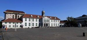 The old Town Hall, now the Jakarta History Museum in Kota Tua (Old Town Batavia).