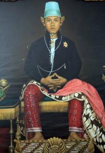 Portrait of the Sultan.