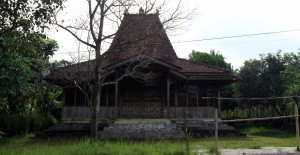 An Indonesian-style home.