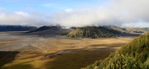 The best view of Mount Bromo and Mount Batok I was granted this morning.