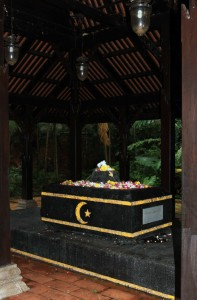 The tomb of Sultan Iskandar Shah, found in Canning Park.