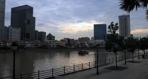The Singapore River.