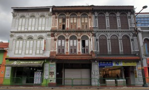 Buildings in Little India.