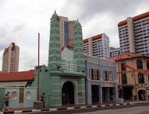 Facade of the Masjid Jamae.