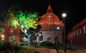 Christ Church of Malacca.