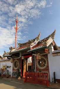 The entrance to Cheng Hoon Teng Temple.