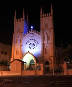 Church of St. Francis Xavier.