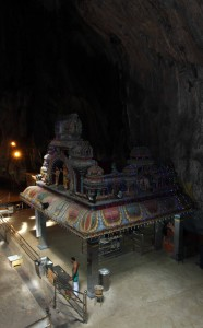 The main temple inside the Temple Cave.