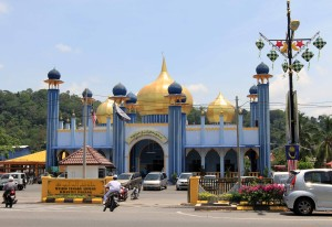 The mosque in Jerantut.