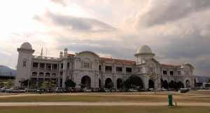 The Ipoh Railway Station.
