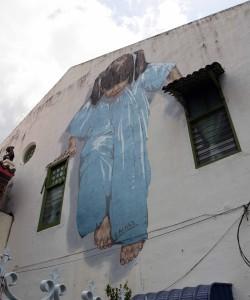 Street art found in George Town.