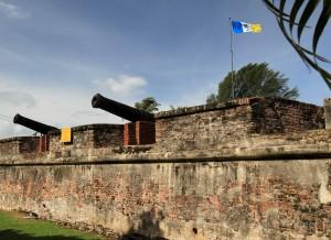 Fort Cornwallis.