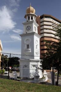 Clock Tower commemorating Queen Victoria's Diamond Jubilee.