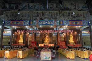 The main hall in Kek Lok Si.