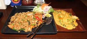 My spicy Thai dinner - Act One: The Feast (I'll be sure to post pictures of Act Three when it happens).