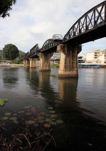Another view of the bridge over the Kwae Yai.