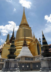 Phra Siratana Chedi in the Grand Palace.